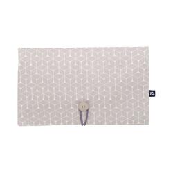 Alvi® Windeltasche Windeltasche, Raute taupe, 28 x 18 cm