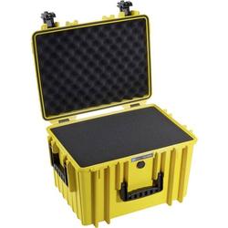 B & W Outdoor Koffer outdoor.cases Typ 5500 37.9l (B x H x T) 495 x 365 x 315mm Gelb 5500/Y/SI