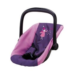 Bayer Puppen Accessoires-Set Puppenzubehör Autositz lila