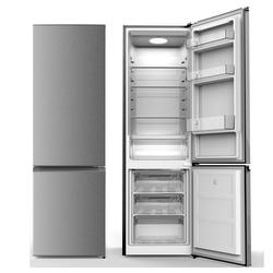 YUNA Kühl-/Gefrierkombination SEREBRO XXL, 178 cm hoch, 55 cm breit, Kühlschrank Energieklasse F