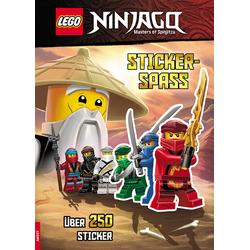 LEGO® NINJAGO® - Stickerspaß als Buch von