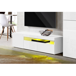 Tecnos Lowboard, Breite 130 cm weiß