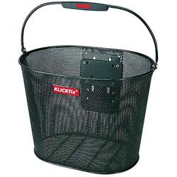 KlickFix Fahrradkorb Vorderradkorb Oval Plus EF