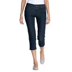 Eddie Bauer  3/4-Jeans - Curvy Damen Blau Gr. 6