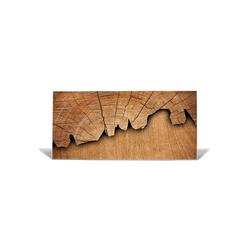banjado Magnettafel Motiv Holz, Memoboard Größe 78x37cm inklusive Magneten