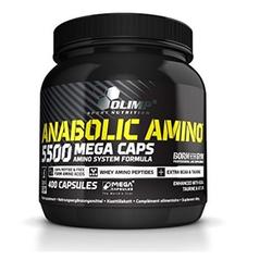 Olimp Anabolic Amino 5500 Mega Caps - 400 Kapsel