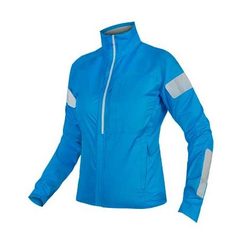 Endura WMS Urban Luminite reflektierende Damen Fahrradjacke blau S