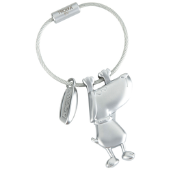 Schlüsselanhänger Doggy, Länge: ca. 5 cm - ca. 5 cm