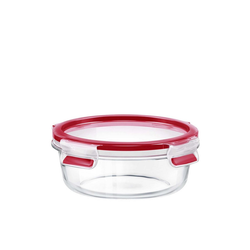 Emsa Frischhaltedose Glas Frischhaltedose rund Clip Close Glas, Glas, (1-tlg)