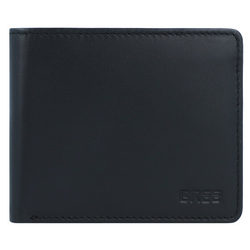 Bree Pocket 109 Geldbörse RFID Leder 11 cm blacksoft