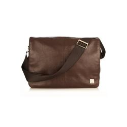Knomo Messenger Bag BromptonBrompton, Leder braun