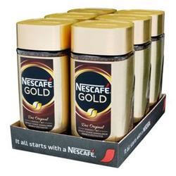 Nestle Nescafe Gold 200 g, 6er Pack