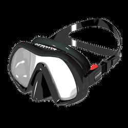Atomic Subframe 3 Venom Single Window Frameless - Schwarz