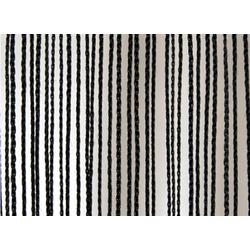 Wentex Pipes & Drapes Vorhang Fadenvorhang, 3x4m, 220g/m², schw.
