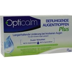 OPTICALM beruhigende Augentropfen Plus in Einzeld. 10 ml