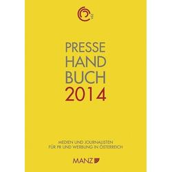 Pressehandbuch 2014 als Buch von