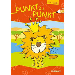 Punkt zu Punkt - Von 1 bis 30 - Löwe
