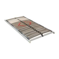 Matratzen Concord Lattenrost BeCo Mega Top 42 ultraflach NV 100x200 cm 7 cm hoch