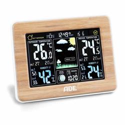 ADE Wetterstation WS 1703 Funkuhr und Außensensor