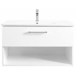 OPTIFIT Waschtisch Napoli, Soft-Close-Funktion, Breite 85 cm weiß