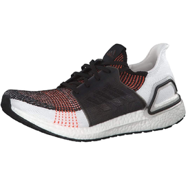 adidas Ultraboost 19 black-red-white/ white, 40.5