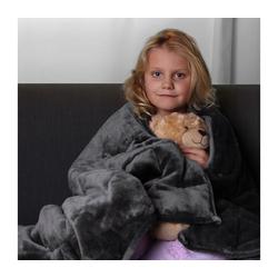 Gewichtsdecke, yourGEAR Therapiedecke 3 kg schwere Gewichtsdecke für Kinder, beruhigende Anti-Stress Tagesdecke, 100x150cm Bettdecke, yourGEAR