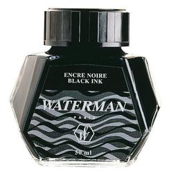 WATERMAN Tintenflacon 50ml schwarz 10k329