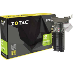Zotac Grafikkarte Nvidia GeForce GT710 Zone Edition 2GB DDR3-RAM HDMI®, DVI, VGA