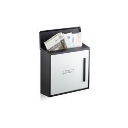 relaxdays Briefkasten Briefkasten modern