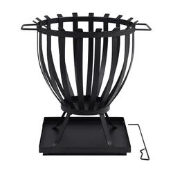TEPRO, Feuerkorb, Höhe: 57 cm, schwarz schwarz