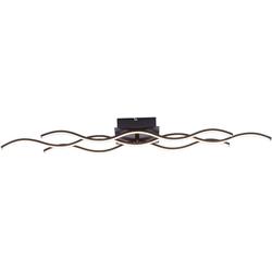 Leuchten Direkt LED Deckenleuchte WAVE, LED Deckenlampe