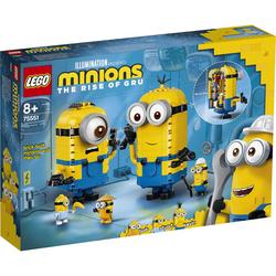 Minions-Figuren Bauset mit Versteck