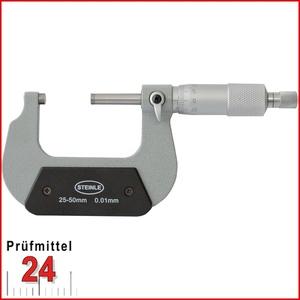 STEINLE Bügelmessschraube 25 - 50 mm DIN 863 Typ: 2130 Aktionspreis gültig bis 30.09.2020