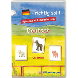 ...richtig so! 1. Deutsch. CD-ROM für Windows ab 98SE