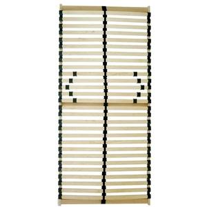 Spenger-Moebel Lattenrost 80x190, 90x190,100x190, 140x190, 140x200 cm, Lattenrost C-Flex mit 26/28 Leisten unverstellbar (90 x 200 cm)