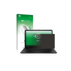 upscreen Schutzfolie für HP Notebook 17-y014ng, Folie Schutzfolie Sichtschutz klar anti-spy