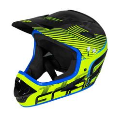 FORCE Fahrradhelm Downhill Tiger Helm gelb L - XL