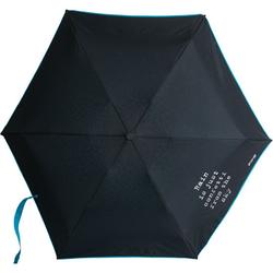 FIT-Z Regenschirm in Neoprenhülle, blau - blau