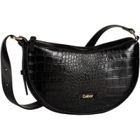 GABOR Livia Crossover Bag croco black