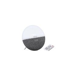 Lenco Radiowecker/Wake-Up Light CRW-4, grau Radiowecker grau