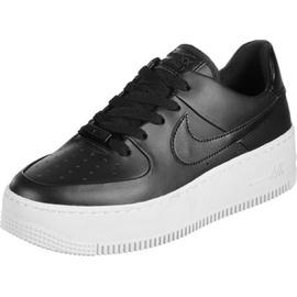 Nike Wmns Air Force 1 Sage Low black/ white, 38.5