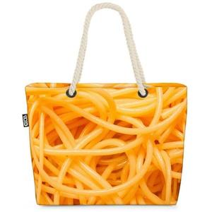 VOID Strandtasche (1-tlg), Pasta Nudeln Spaghetti Pasta Nudeln Spaghetti Buchweizen Eiernudeln k