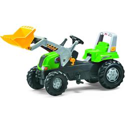 Rolly Toys Trettraktor mit Schaufellader rolly Junior RT grün