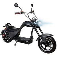 eFlux Chopper One 2000 Watt 45 km/h matt-schwarz