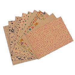 Kraftpapier-Set, 10 Blatt, A4