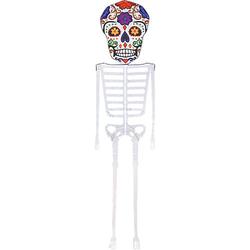 Dia De Los Muertos Skeleton Kite, 13 ft.