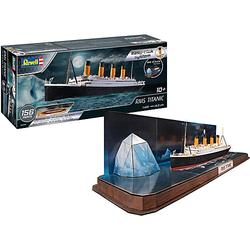 easy-click RMS Titanic + 3D Puzzle (Iceberg) 1:600