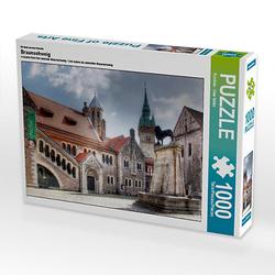 Braunschweig Lege-Größe 64 x 48 cm Foto-Puzzle Bild von uwe vahle Puzzle
