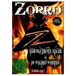 Zorro - Der blutrote Adler / Zorro im wilden Westen - DVD  Filme