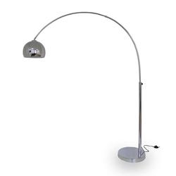 Kiom Stehlampe Bogenleuchte Karoi Chrom 203 cm E27
